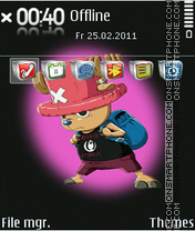 Capture d'écran Choper 4w Icons thème