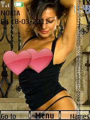 Sexy model87 theme screenshot