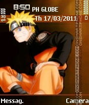 Uzumaki Naruto theme screenshot