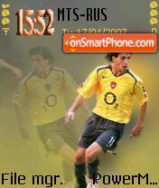 Arsenal Fabregas theme screenshot