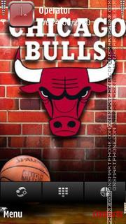 Chicago bulls nba theme screenshot