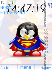 Penguin tema screenshot