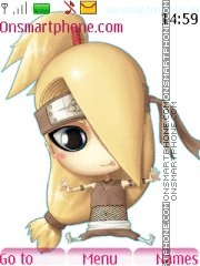 Chibi naruto 7979 theme screenshot