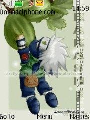 Скриншот темы Chibi kakashi 2011