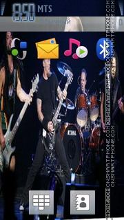 Metallica tema screenshot