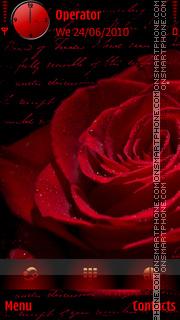 Red Rose es el tema de pantalla