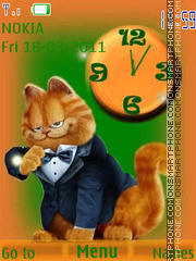 Garfield 34 theme screenshot