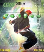 Hip Hop Style 01 es el tema de pantalla
