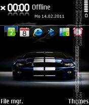 Mustang 25 es el tema de pantalla