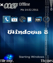 Скриншот темы Windows 8 02