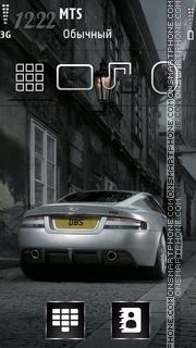 Silver Car 02 theme screenshot