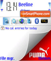 Puma 01 theme screenshot