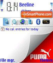 Скриншот темы Puma 01