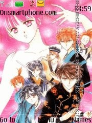 Fushigi Yuugi (loke in manga) theme screenshot