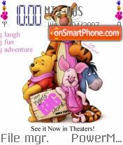 Winnie Pooh WN theme screenshot