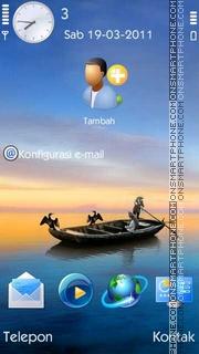 Sea HD theme screenshot