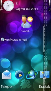 Android tema screenshot