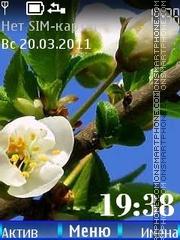 Spring tema screenshot