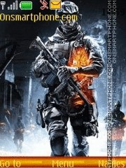 Battlefield 3 theme screenshot