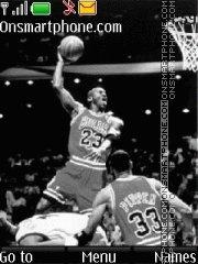 Michael Jordan 01 es el tema de pantalla