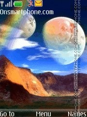 Скриншот темы Moons