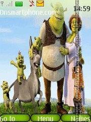 Скриншот темы Shrek 09