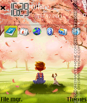Lonely 14 tema screenshot