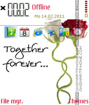 Together forever 08 theme screenshot