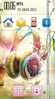 Abstract Music 04 theme screenshot