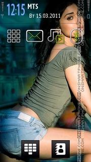 Shriya Saran 02 theme screenshot
