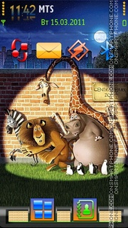Madagascar 05 theme screenshot