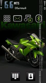Kawasaki 05 theme screenshot