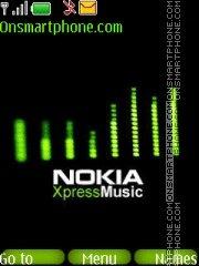 XpressMusic By ROMB39 es el tema de pantalla