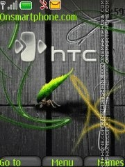 HTC By ROMB39 theme screenshot