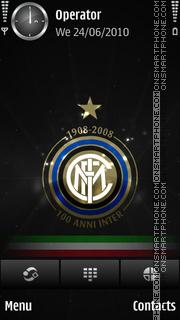 Inter tema screenshot