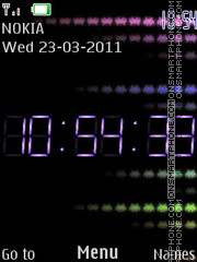 P.P.G. Clock theme screenshot