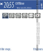 FaceBook 05 theme screenshot