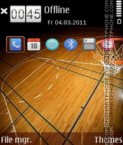 Basketball 06 theme screenshot