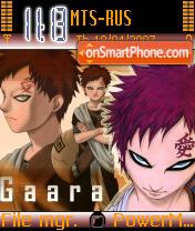 Gaara theme screenshot