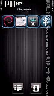 Steel Dark tema screenshot