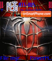 Animated Spider Man 3 theme screenshot
