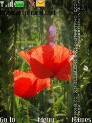 Скриншот темы Red weeds