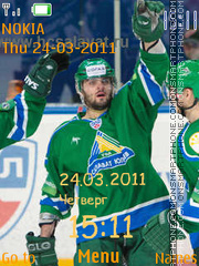 Salavat ylaev theme screenshot
