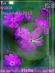 Flowerbed theme screenshot
