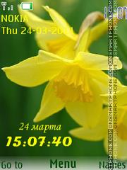 Narcissus tema screenshot