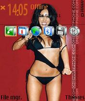 Megan Fox theme screenshot