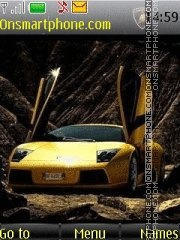 Lamborghini 06 tema screenshot