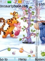 Winnie the pooh and friends 01 theme screenshot