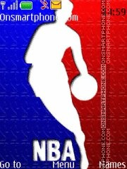 NBA Basketball 01 theme screenshot