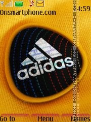 Adidas 49 theme screenshot
